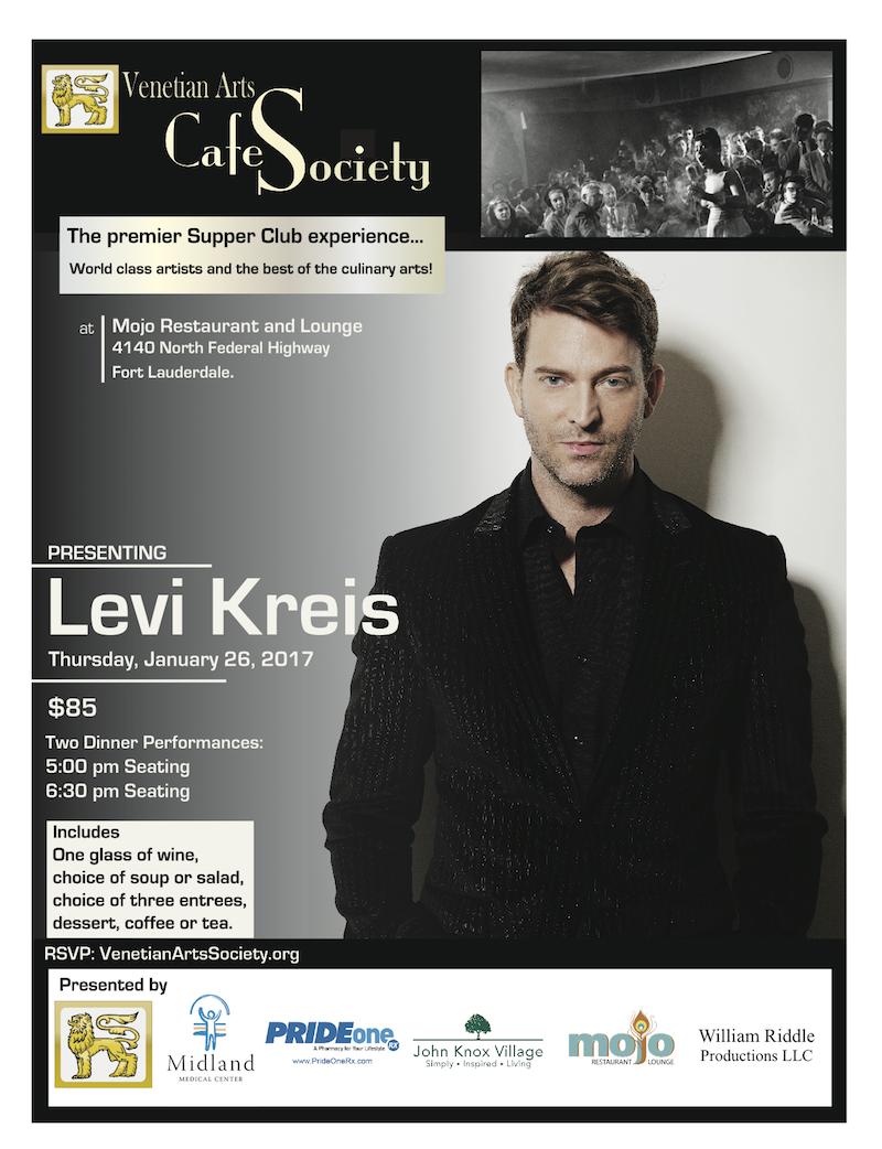 Café Society with Levi Kreis at Mojo's